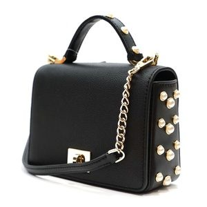 Kate Spade Maisie Pearl Crossbody Satchel Bag